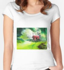 Dream House 3 Women's Fitted Scoop T-Shirt