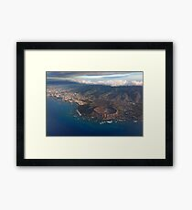 Diamond Head Crater 2 Framed Print