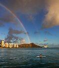 Rainbow over Diamond Head by Alex Preiss