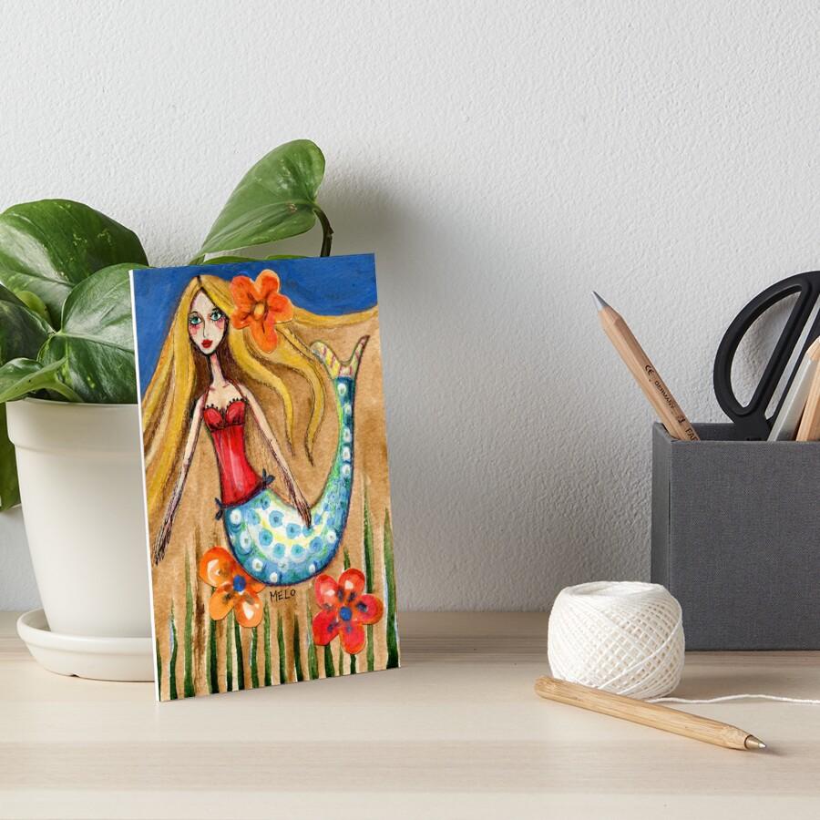 Pretty Tail Art Board Print