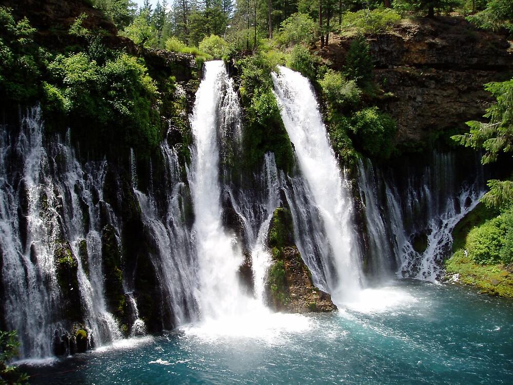 Burney Falls, CA by jtnoda