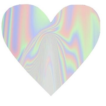 holographic heart by cedougherty