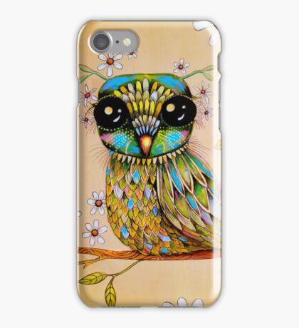 the peridot owl iPhone Case/Skin