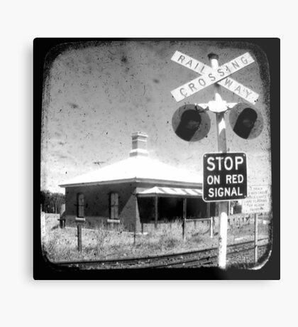 Stop on Red - Through The Viewfinder (TTV) Metal Print