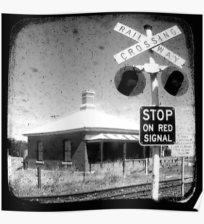 Stop on Red - Through The Viewfinder (TTV) Poster