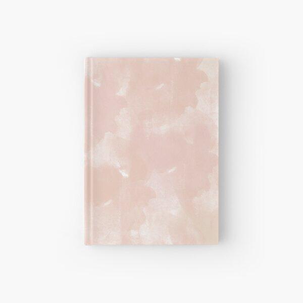 Beige -pinkish background Hardcover Journal