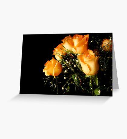 Peach Top Greeting Card