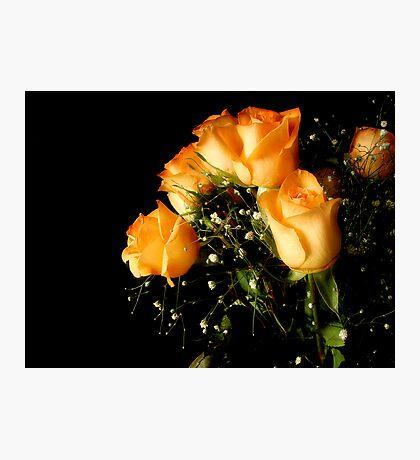 Peach Top Photographic Print