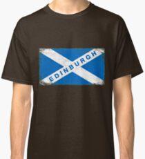 Edinburgh Shirt Vintage Scotland Flag T-Shirt Classic T-Shirt