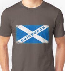 Edinburgh Shirt Vintage Scotland Flag T-Shirt Unisex T-Shirt