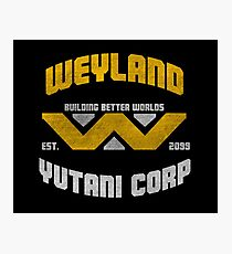 Weyland Corp Photographic Print