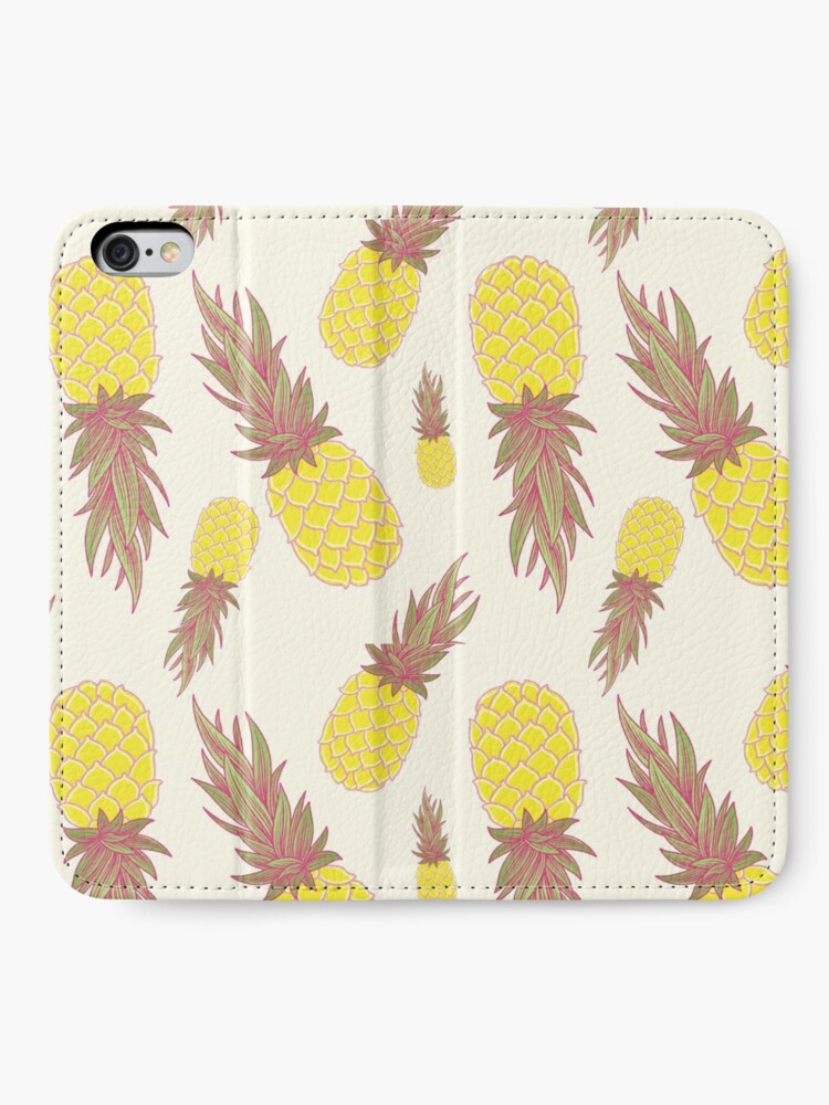 Alternate view of Fresh Pineapples! iPhone Wallet