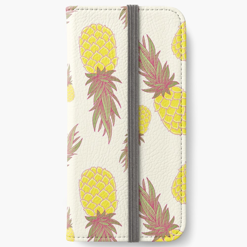 Fresh Pineapples! iPhone Wallet