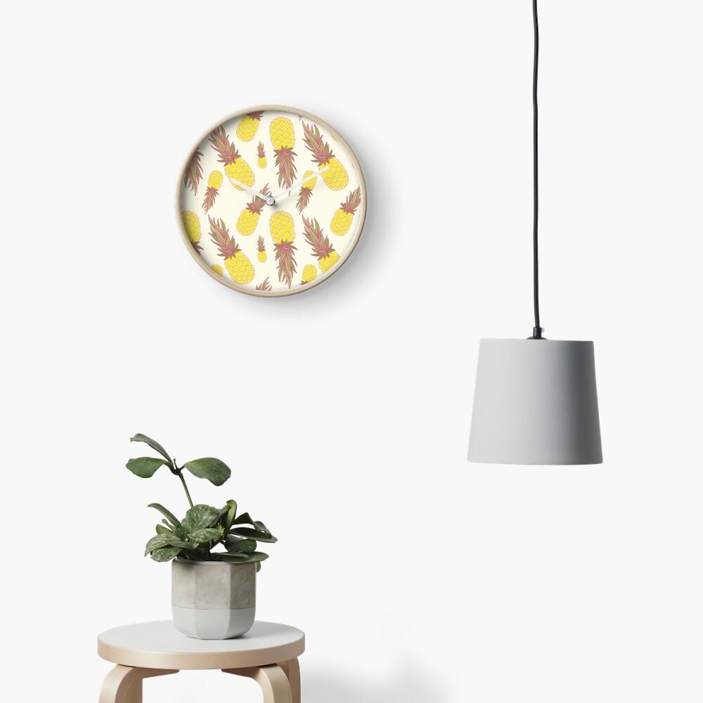 Fresh Pineapples! Clock