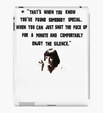 Pulp Fiction Mia Quote iPad Case/Skin