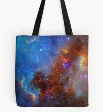 Galaxis, Universum, Weltall, Nebel, Sterne Tote Bag
