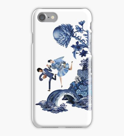 The lover's flee iPhone Case/Skin