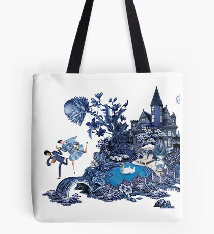 The lover's flee Tote Bag