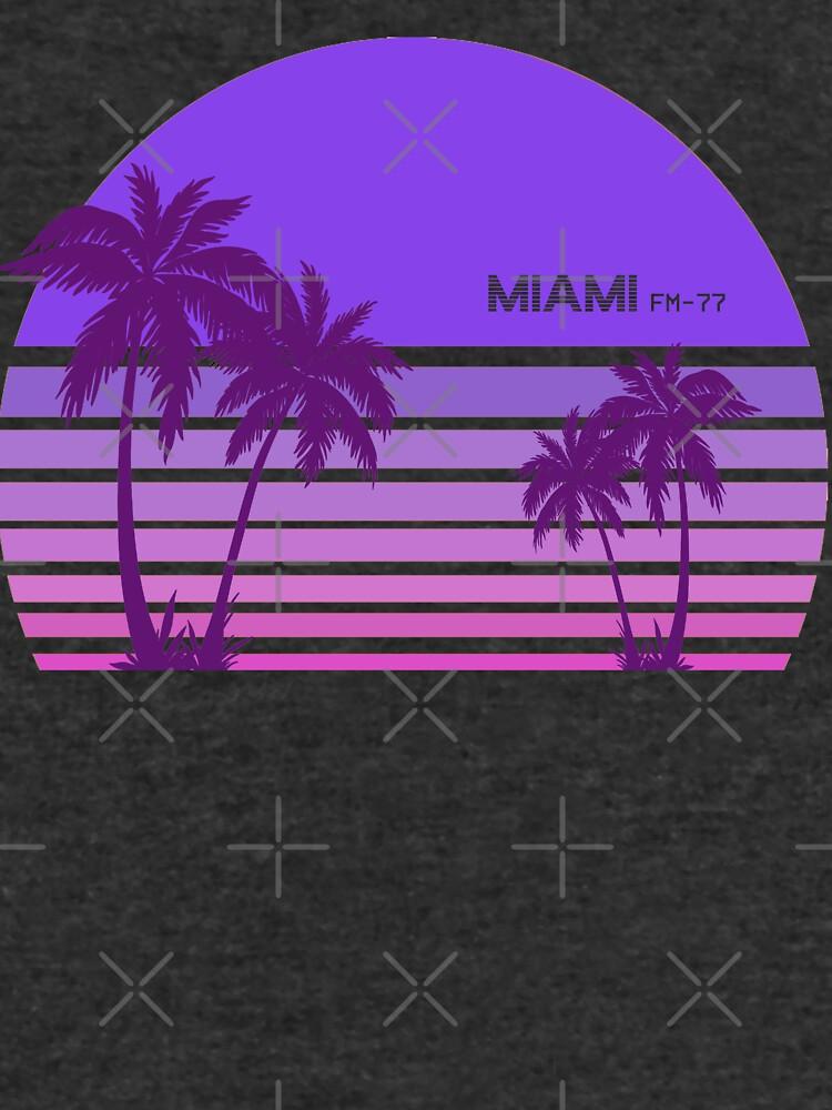 Synthwave - Miami FM-77 von Acka01
