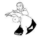 « Sensei exécutant ikkyo (Aikidrôle) » par E-Maniak
