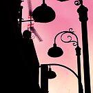 3 street lights by Amagoia  Akarregi