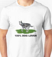 100 % Dog Lover Unisex T-Shirt