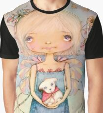 Mary's Little Lamb Graphic T-Shirt