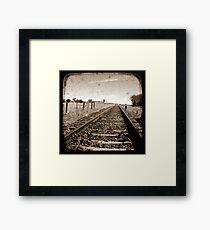 Make Tracks - Through The Viewfinder (TTV) Framed Print