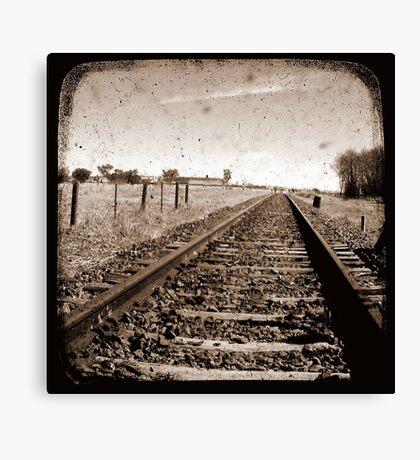 Make Tracks - Through The Viewfinder (TTV) Canvas Print