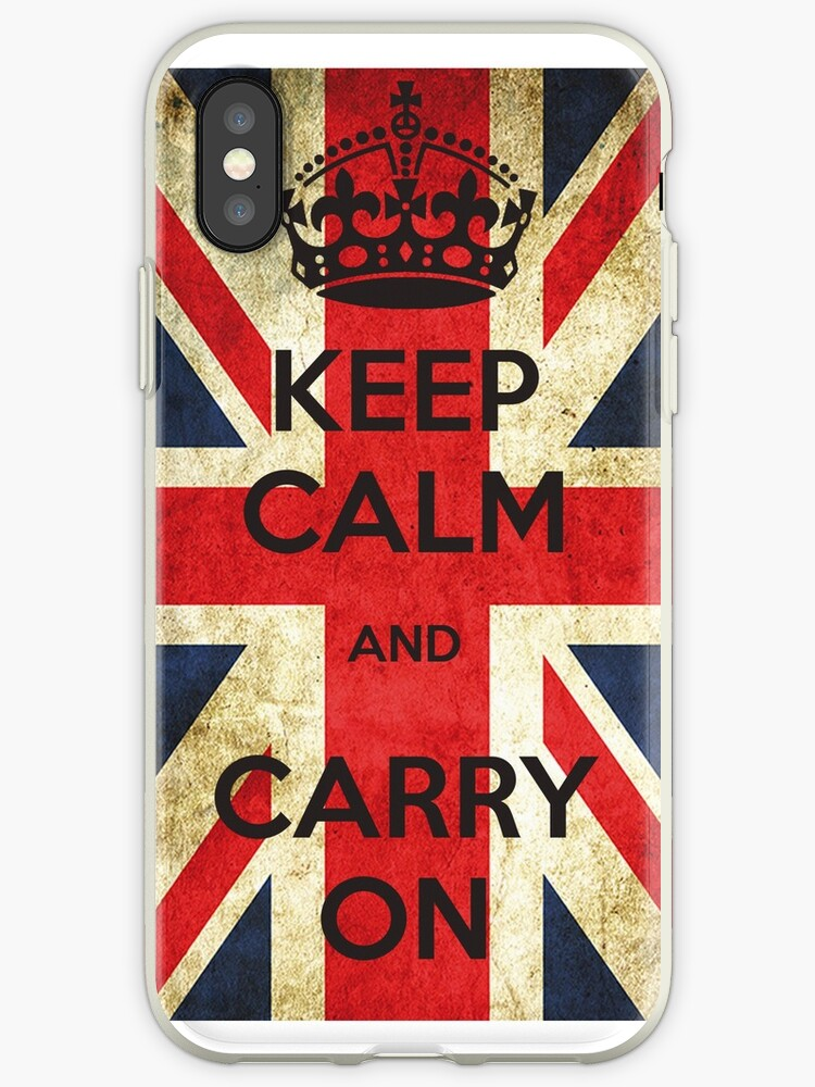 KEEP CALM AND CARRY ON by texta