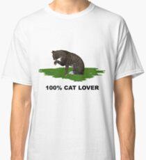 100 % Cat Lover 2  Classic T-Shirt