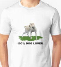 100 % Dog Lover 2  Unisex T-Shirt