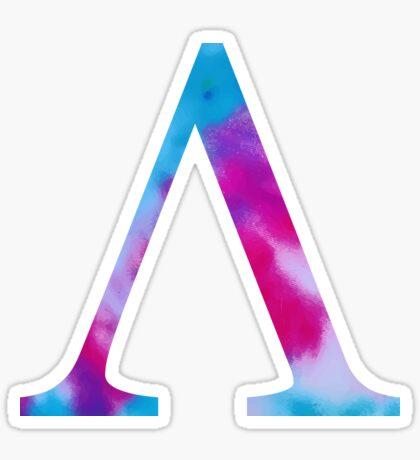 tie dye - lambda Pegatina