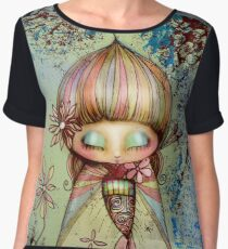 kawaii Women's Chiffon Top