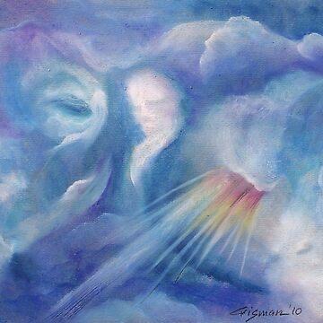 3746 Rain Clouds A3  by CrismanArt