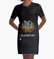 Updated dzyn!!!! 0909 Rasta Lion Graphic T-Shirt Dress