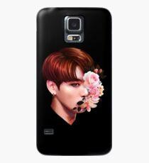 Blumen + Jungkook Hülle & Klebefolie für Samsung Galaxy