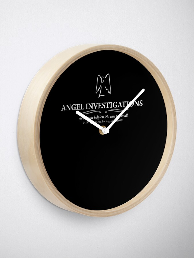 Alternate view of Angel Investigations : Inspired by Buffy The Vampire Slayer / Angel Clock