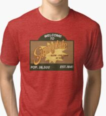 Welcome to Sunnydale : Inspired by Buffy The Vampire Slayer Tri-blend T-Shirt