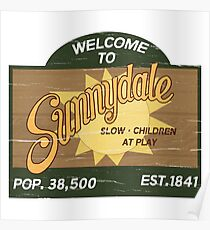 Welcome to Sunnydale : Inspired by Buffy The Vampire Slayer Poster