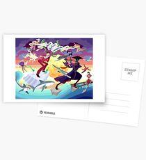 Ron Burgundy vs Scaramouche Postcards