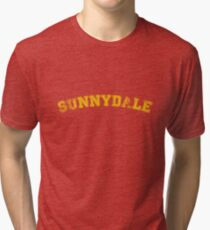 Sunnydale High : Inspired by Buffy The Vampire Slayer Tri-blend T-Shirt