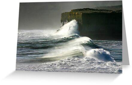 1470 Incoming Wave - 12 Apostles by Hans Kawitzki
