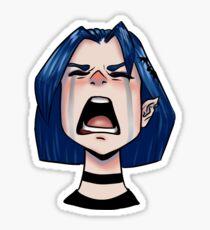Lora The Antichrist 4 Sticker