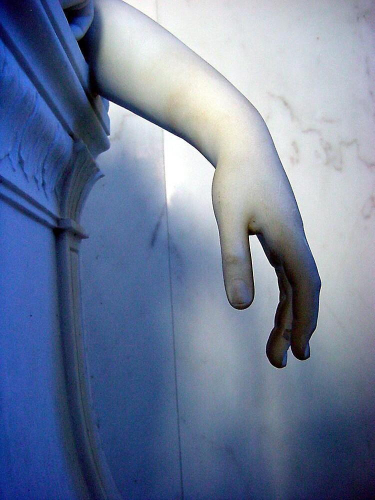arm study in blue by kristana