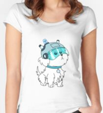 sky dog Women's Fitted Scoop T-Shirt