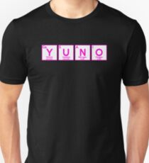 Yuno Gasai Periodic Table Parody Anime Shirt Unisex T-Shirt