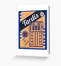 TIMELORDS GADGET VINTAGE Greeting Card