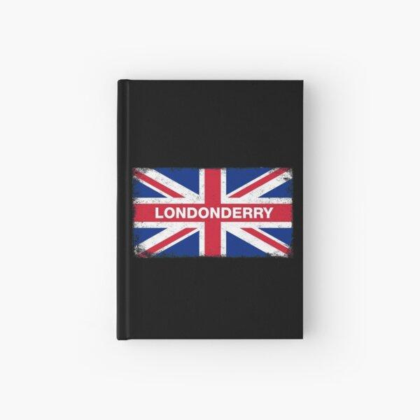 Londonderry Shirt Vintage United Kingdom Flag T-Shirt Hardcover Journal