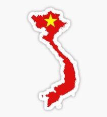 Flag of Vietnam Sticker